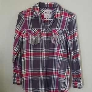 Mudd Western Long Sleeve Shirt